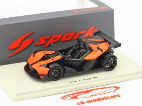 KTM X-Bow RR Facelift 2017 black / orange 1:43 Spark