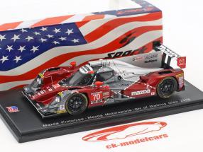 Mazda Prototype #70 6h Watkins Glen 2016 Long, Miller, Devlin 1:43 Spark