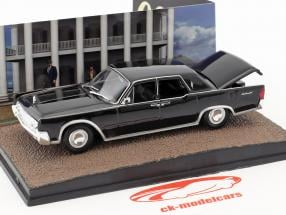 Lincoln Continental James Bond Goldfinger noir 1:43 Altaya