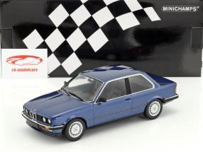 BMW 323i Baujahr 1982 blau metallic 1:18 Minichamps