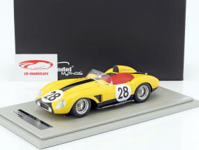 Ferrari 500 TRC #28 7 ° 24h LeMans 1957 Bianchi, Harris 1:18 Tecnomodel