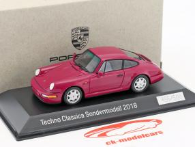 Porsche 911 (964) sPECIAL EDITION Techno Classica Essen 2018 porpora 1:43 Spark