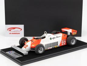 Mario Andretti Alfa Romeo 179C #22 German GP formula 1 1981 With Showcase 1:18 LookSmart