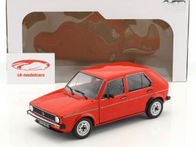 Volkswagen VW Golf 1 L rouge 1:18 Solido