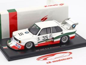 BMW 320 Turbo Gr. 5 #55 6h Silverstone 1978 Francia, Facetti 1:43 Spark
