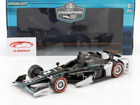 Josef Newgarden Chevrolet #2 champion IndyCar Series 2017 1:18 Greenlight