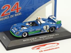 Matra 670B #7 vincitore 24h LeMans 1974 Pescarolo, Larrousse 1:43 Ixo