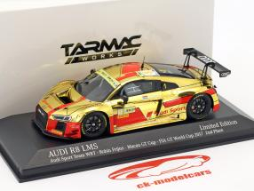 Audi R8 LMS #1 2 ° FIA GT Cup Macau 2017 Robin Frijns 1:43 Minichamps