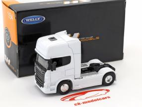 Scania V8 R730 (4x2) white 1:64 Welly