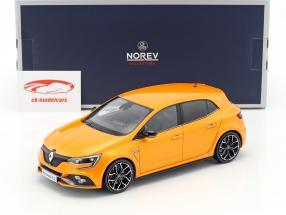 Renault Megane R.S. année de construction 2017 tonique orange 1:18 Norev