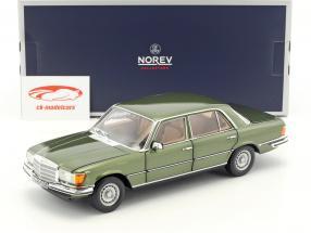 Mercedes-Benz 450 SEL 6.9 (W116) year 1976 green metallic 1:18 Norev