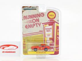 Datsun 240Z #27 year 1971 red 1:64 Greenlight