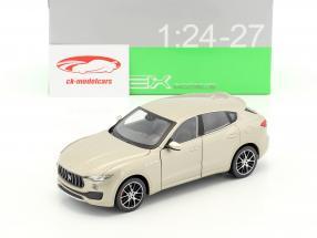 Maserati Levante year 2017 gold 1:24 Welly