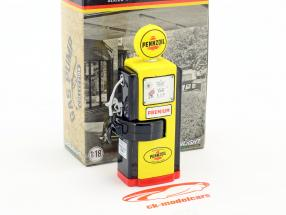Wayne 100-A Pennzoil gas pompa 1948 giallo 1:18 Greenlight