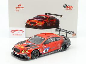 Bentley Continental GT3 #36 24h Nürburgring 2017 Bentley Team ABT 1:18 Spark