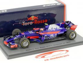 Pierre Gasly Toro Rosso STR12 #10 Malaysia GP formula 1 2017 1:43 Spark