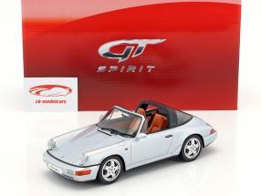 Porsche 911 (964) Targa année de construction 1991 polaire argent 1:18 GT-Spirit