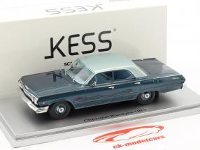 Chevrolet Biscayne Baujahr 1963 blau 1:43 KESS