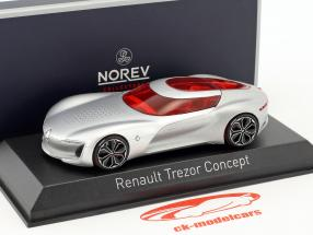 Renault Trezor Concept Car Salon de Paris 2016 silber metallic 1:43 Norev