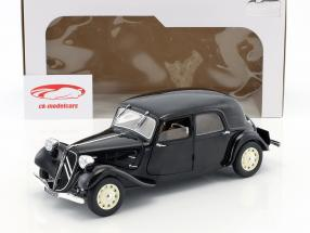 Citroen Traction 11CV year 1937 black 1:18 Solido