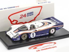 Porsche 956 #1 Winner 24h LeMans 1982 Ickx, Bell 1:43 Spark