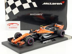 Stoffel Vandoorne McLaren MCL32 #2 Monaco GP Formel 1 2017 1:18 Minichamps