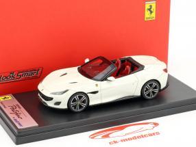 Ferrari Portofino Open Top Baujahr 2017 italia weiß 1:43 LookSmart