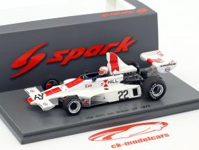 Alan Jones Hill GH1 #22 Großbritannien GP Formel 1 1975 1:43 Spark