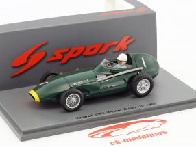 Stirling Moss Vanwall VW5 #1 vincitore olandese GP formula 1 1958 1:43 Spark