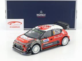 Citroen C3 WRC #9 Tour de Corse 2017 Lefebvre, Moreau 1:18 Norev