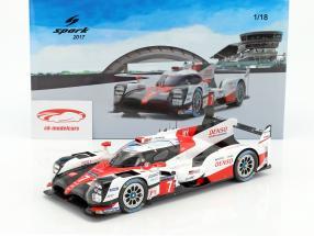 Toyota TS050 Hybrid #7 24h LeMans 2017 Conway, Kobayashi, Sarrazin 1:18 Spark