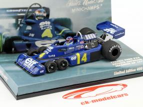 Patrick Depailler Tyrrell P34 #4 2nd Japan GP Formel 1 1976 1:43 Minichamps