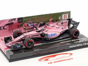 Sergio Perez Force India VJM10 #11 GP China  formula 1 2017 1:43 Minichamps