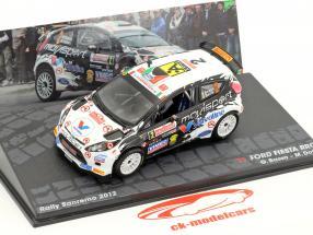 Ford Fiesta RRC #2 Winner Rallye SanRemo 2012 Basso, Dotta 1:43 Altaya
