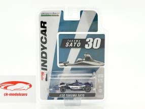 Takuma Sato Honda #30 IndyCar Series 2018 Rahal Letterman Lanigan Racing 1:64 Greenlight