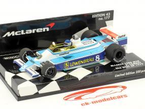 Patrick Tambay McLaren M28 #8 USA west GP formula 1 1979 1:43 Minichamps
