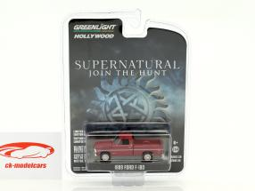 Ford F-100 Baujahr 1969 TV-Serie Supernatural rot 1:64 Greenlight