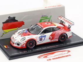 Porsche 911 GT3 Cup #60 24h Nürburgring 2017 Gigaspeed Team GetSpeed Performance 1:43 Spark
