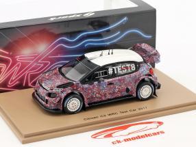 Citroen C3 WRC Test Car 2017 1:43 Spark