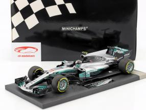 Valtteri Bottas Mercedes F1 W08 EQ Power+ #77 China GP Formel 1 2017 1:18 Minichamps