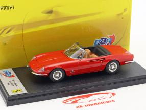 Ferrari 365 California year 1966 red 1:43 BBR