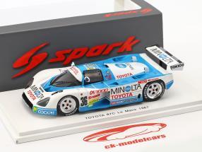 Toyota 87C #36 24h LeMans 1987 Jones, Lees, Elgh 1:43 Spark