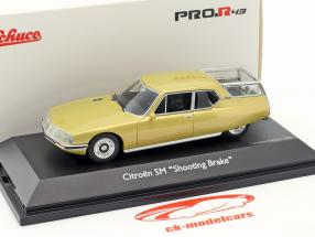 Citroen SM Shooting Brake gold metallic 1:43 Schuco
