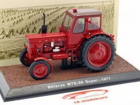 Belarus MTS-50 Super tracteur année de construction 1971 rouge 1:32 Atlas