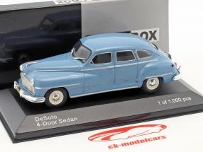 DeSoto 4-Door berline année de construction 1946 bleu clair 1:43 WhiteBox
