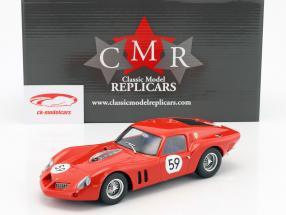 Ferrari 250 GT Drogo #59 5 ° 1000km Nürburgring 1963 Langlois van Ophem, Elde 1:18 CMR