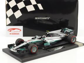 Valtteri Bottas Mercedes F1 W08 EQ Power  #77 1 ° vittoria Russian GP  F1 2017 1:18 Minichamps