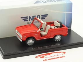 Ford Bronco Roadster anno di costruzione 1967 rosso 1:43 Neo