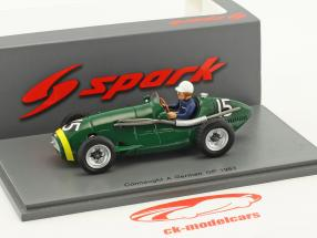 Roy Salvadori Connaught A #15 tedesco GP formula 1 1953 1:43 Spark