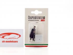 Brumista entraîneur conducteur Milano 1800 1:43 Brumm